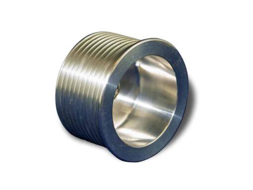 GM LS1 10 Rib Drive Billet Aluminum Alternator Pulley