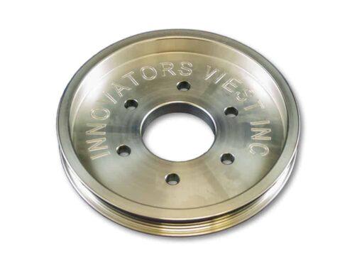 4-Rib COPO Accessory Crank Pulley