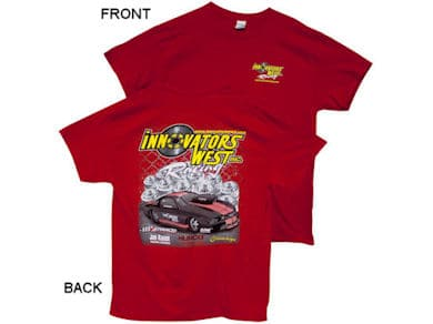 INNOVATORS WEST RACING T-SHIRT - RED