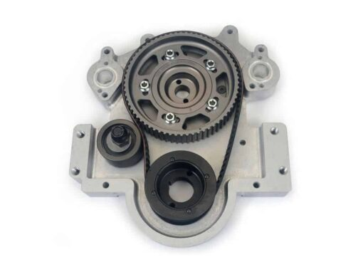 Big Block Ford Camshaft Belt Drive with BBC Accessory Mount Pads