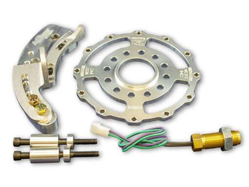 """Small Block Ford 12-Magnet Crank Trigger Kit for 6.5"""" Diameter Damper"""