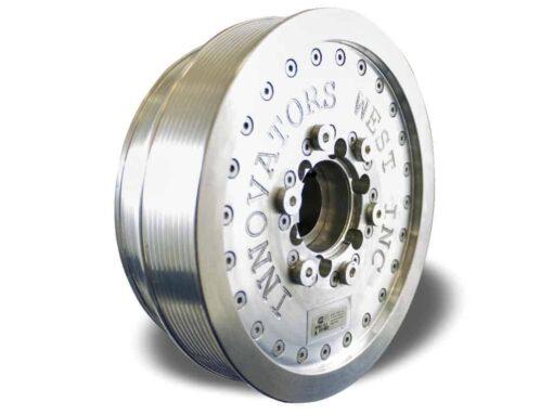 LSX 10-Rib Harmonic Damper with 10% Overdrive