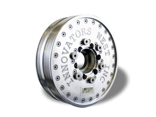 LSX 6-Rib Harmonic Balancer for Gen 6 Camaro - Standard Diameter w/Crank Bolt